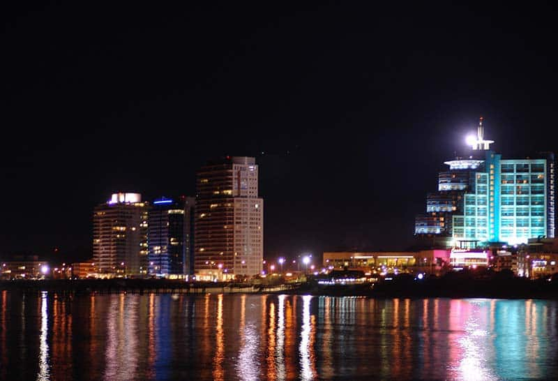 Noite no Uruguai