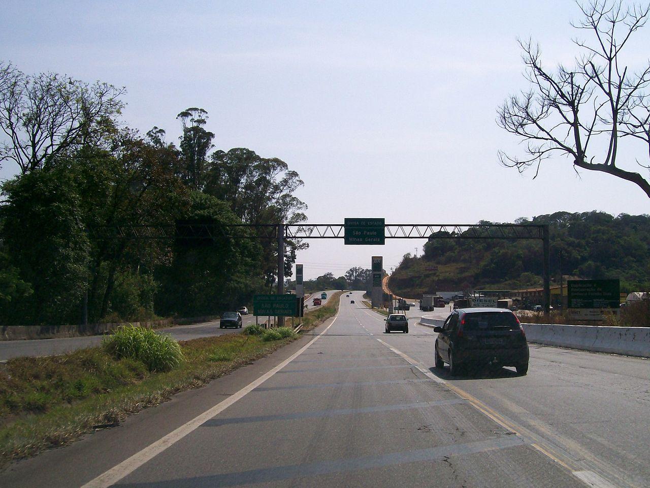 Como chegar a Minas Gerais de SP