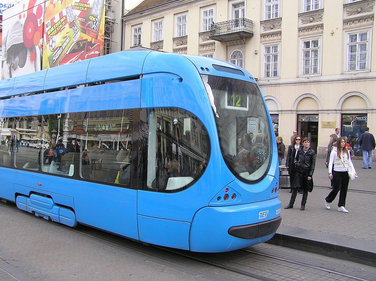 Transporte público em Zagreb