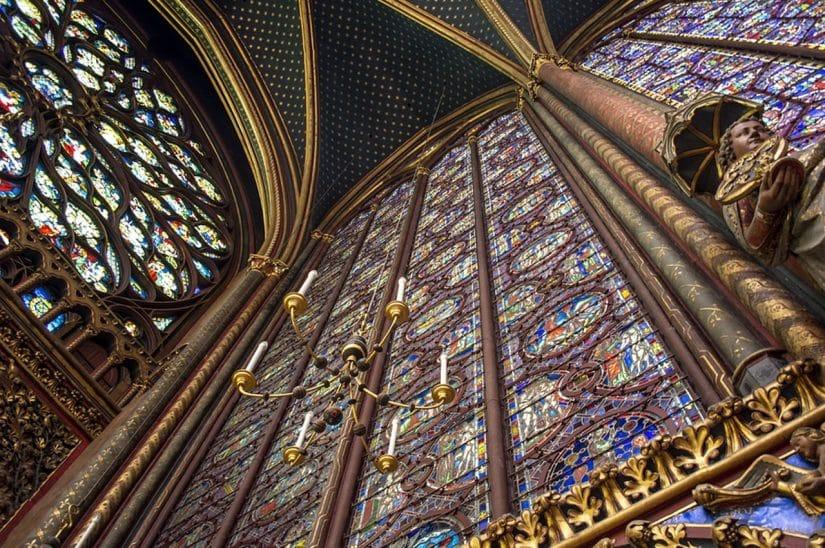 sainte chapelle arquitetura