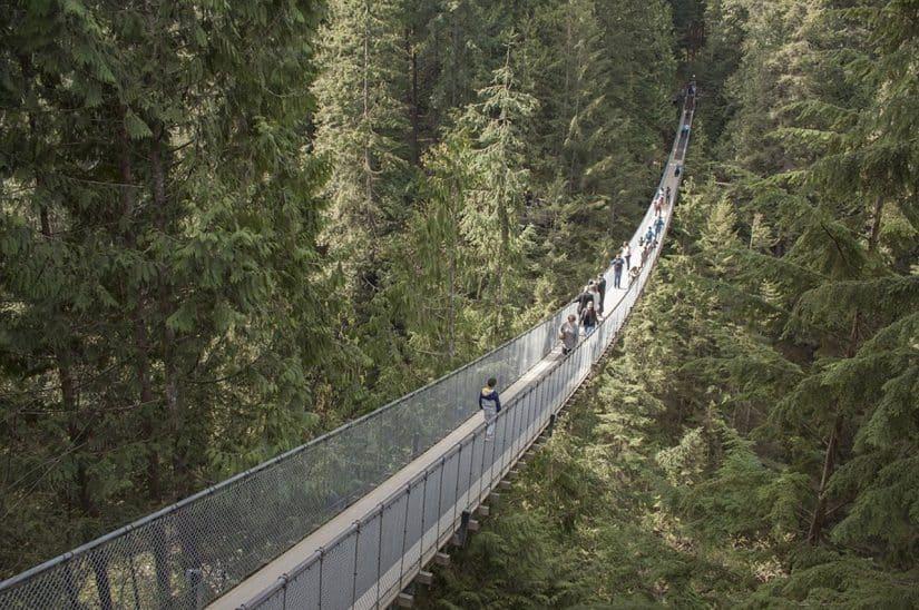 ponte suspensa vancouver