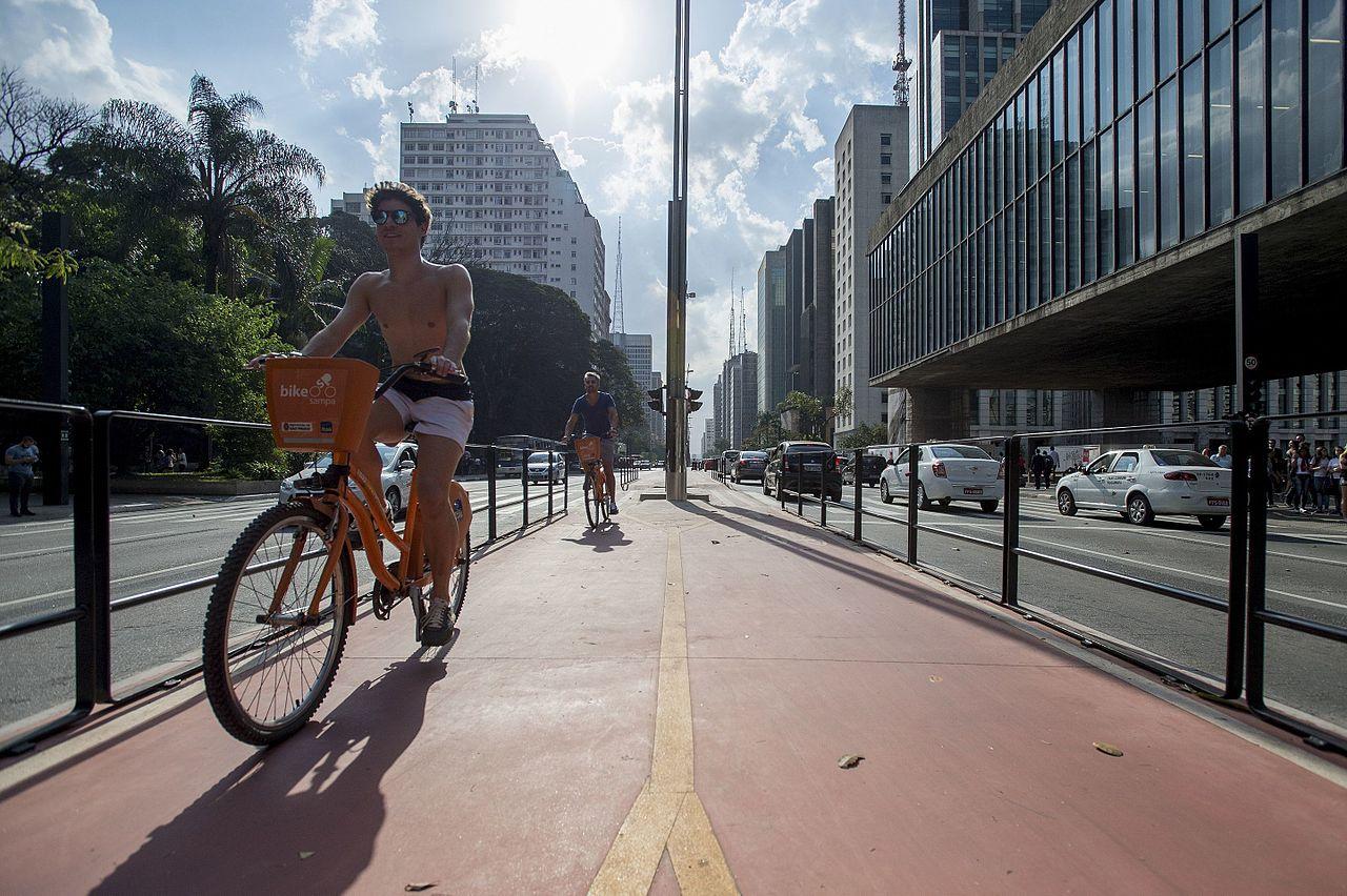 Avenida Paulista ciclovia