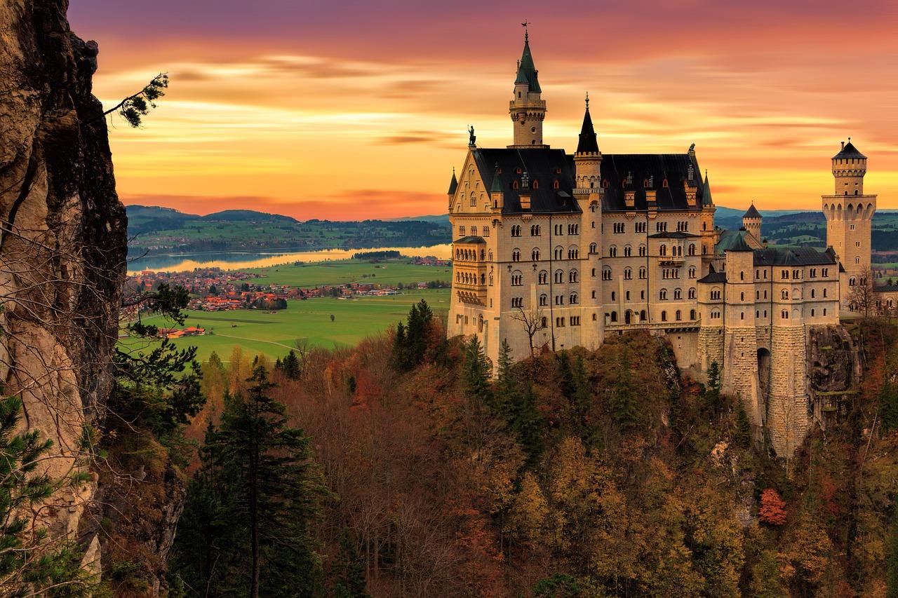 castelo de neuschwanstein e linderhof