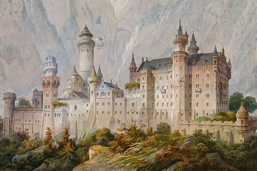 castelo de neuschwanstein castelo de hohenschwangau