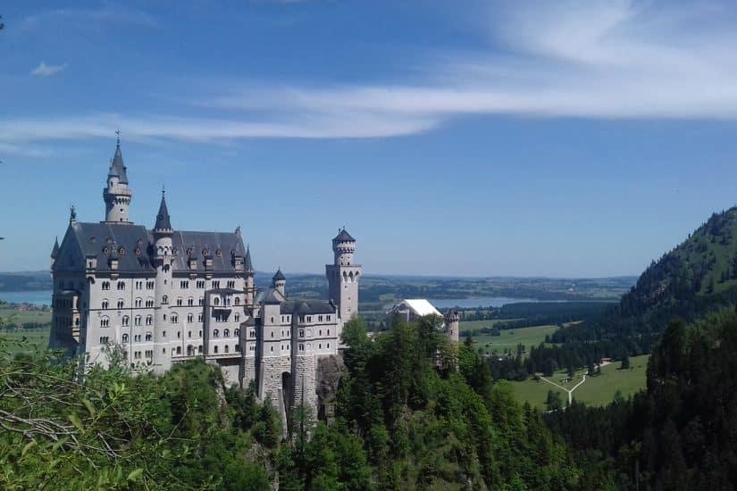 castelo de neuschwanstein onde fica
