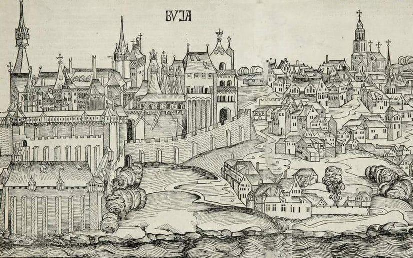 castelo de buda parlamento de budapeste