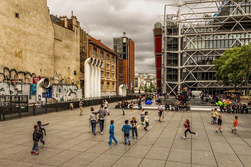 tours centro pompidou