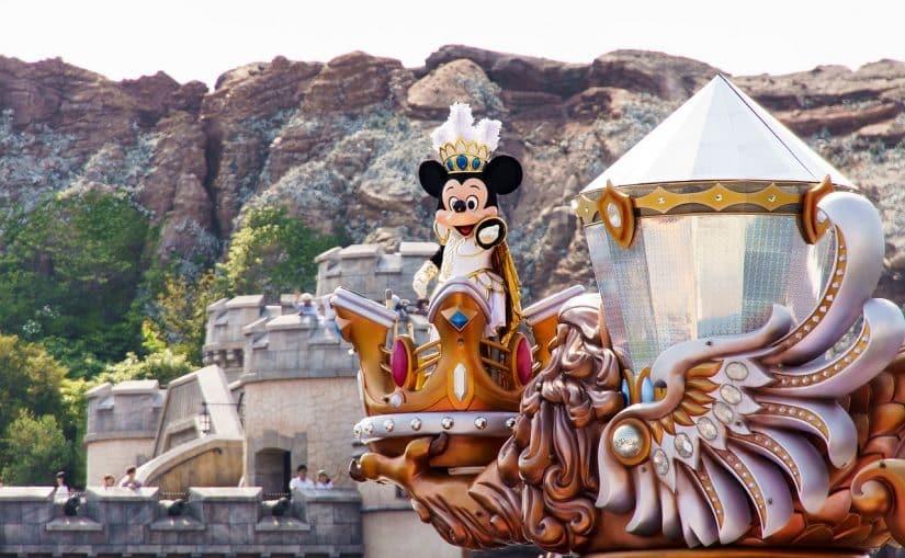 Estacionamento Disney Tokyo