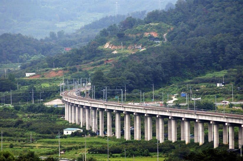 estradas coreia do sul