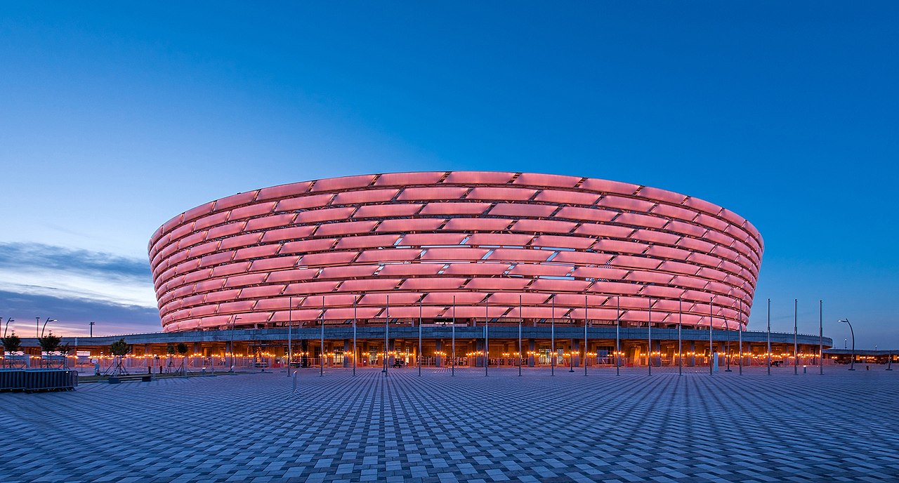 Olympic Stadium em Baku
