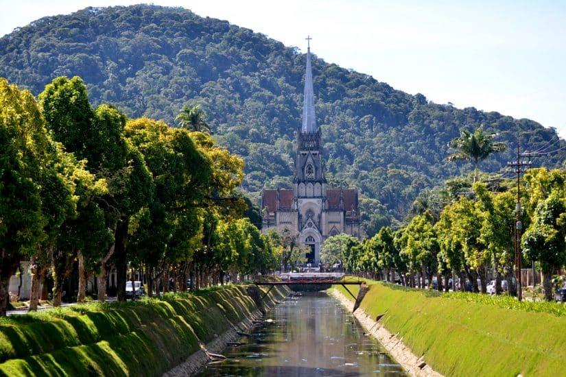 guia pontos turísticos de Petrópolis