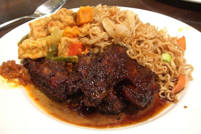 comida típica de Bali