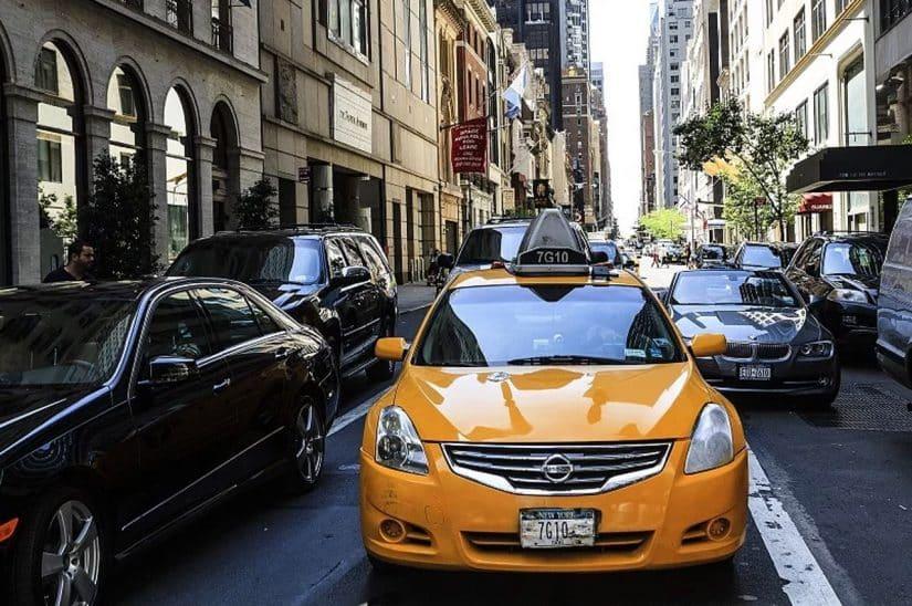 dicas para andar de táxi