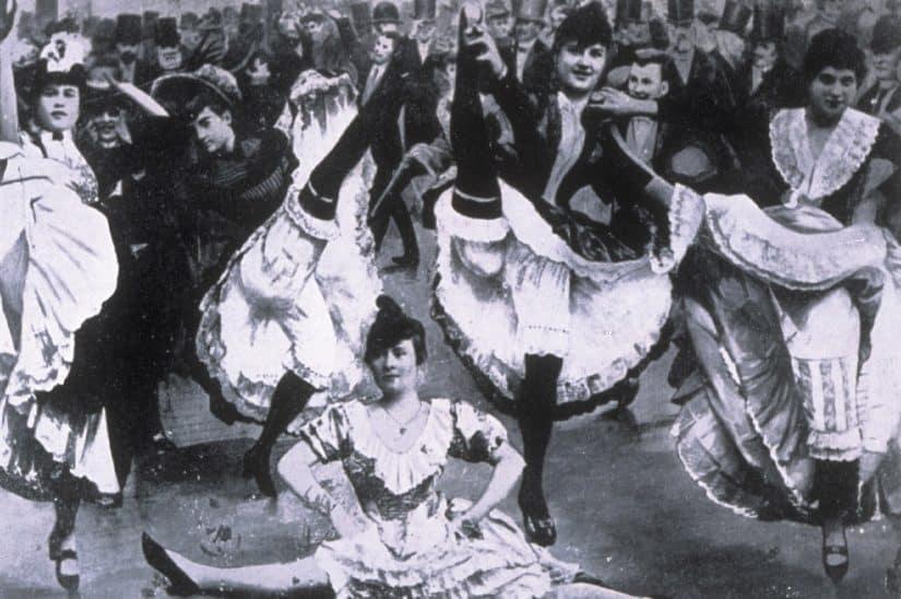 cancan dança