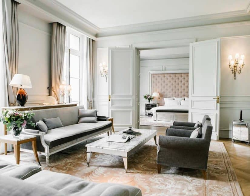 hotel luxuoso em paris
