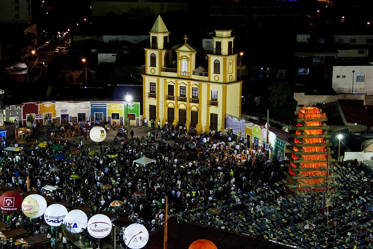atrações das Festas Juninas do Nordeste