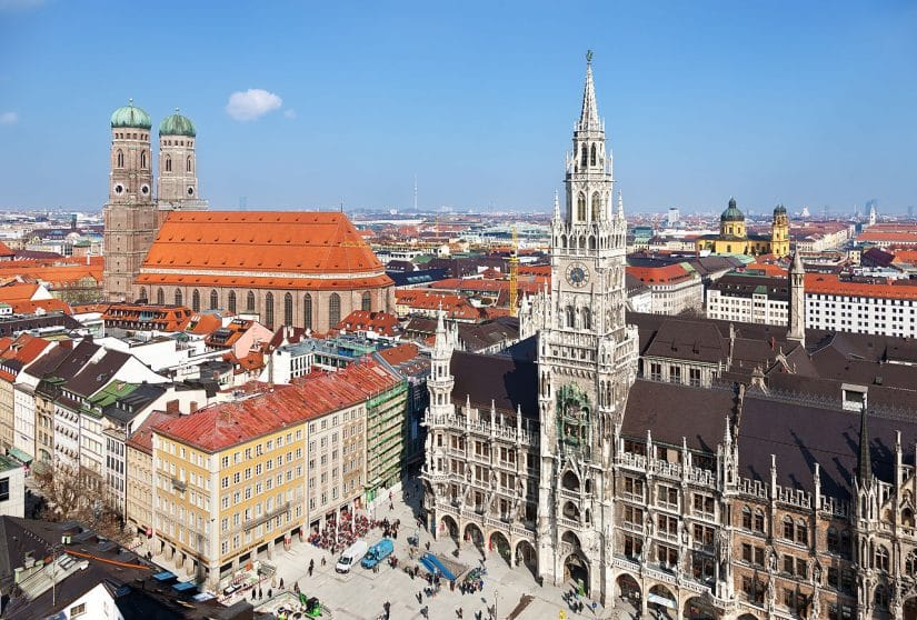 pontos turísticos da Alemanha Neues Rathaus