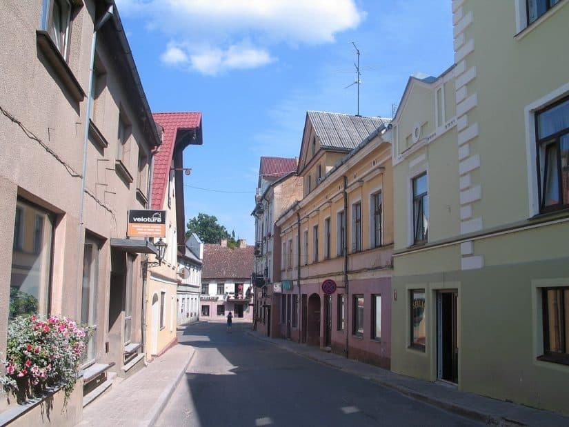 passeio nas cidades da Letônia