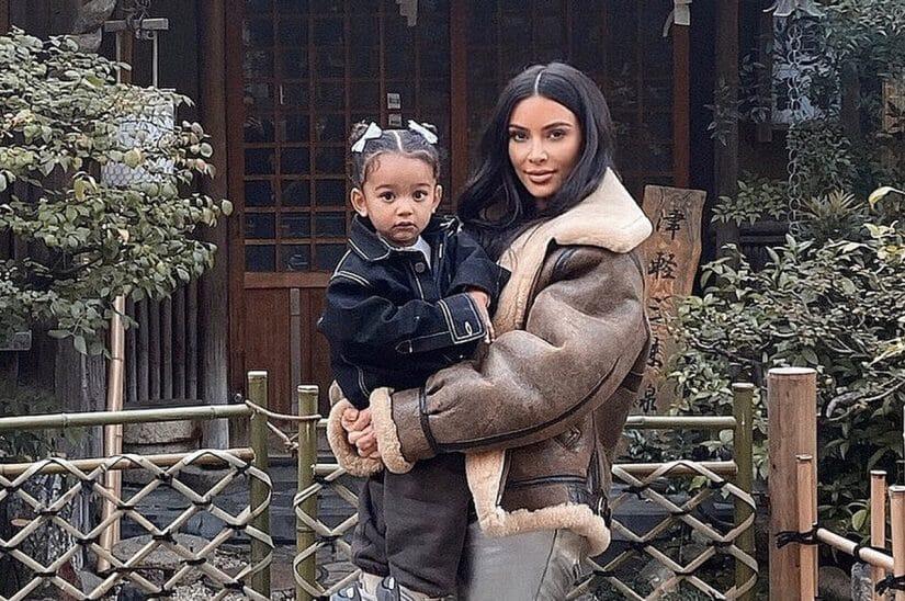 kim kardashian filhos