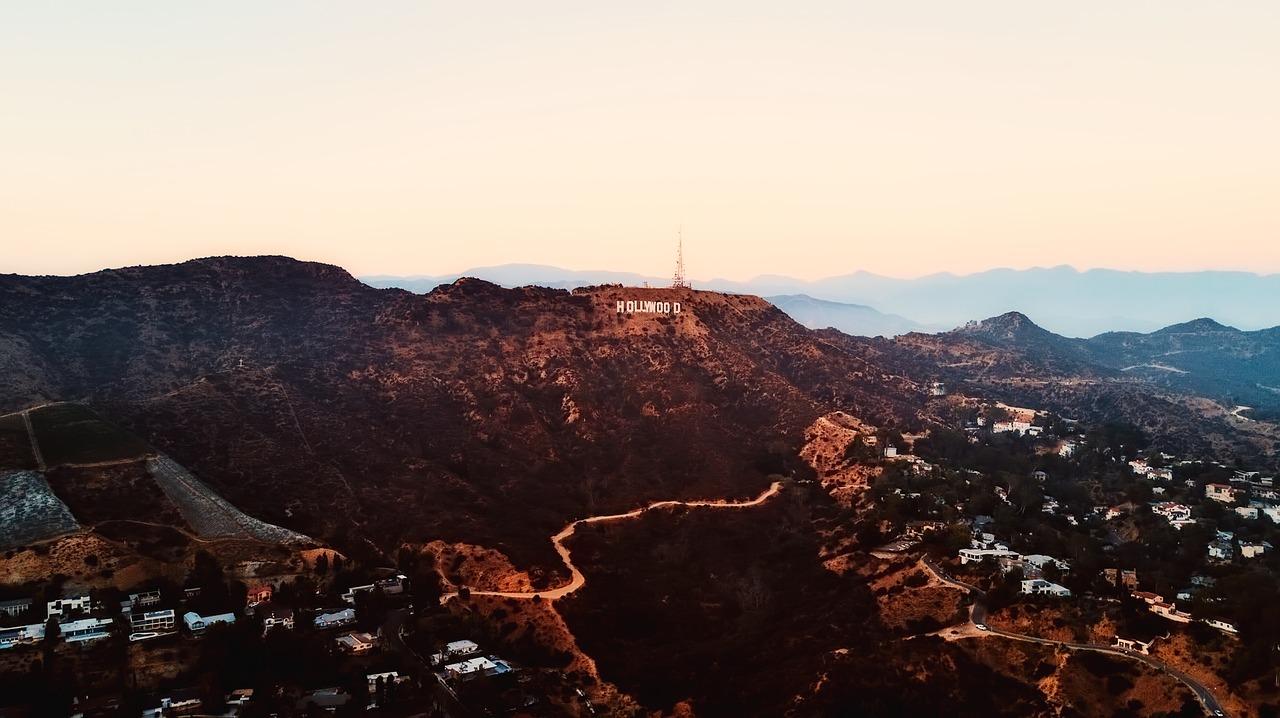 letreiro hollywood california