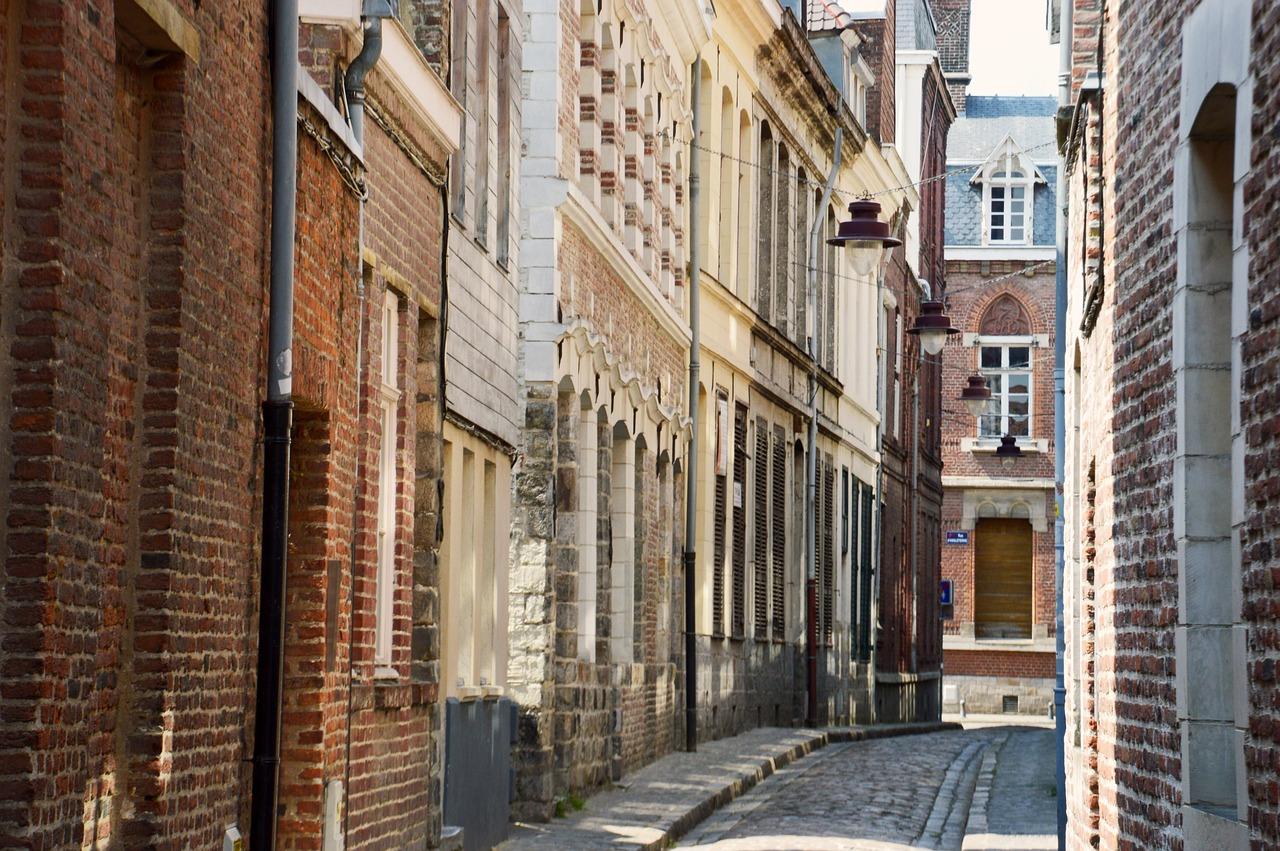 Lille França mapa