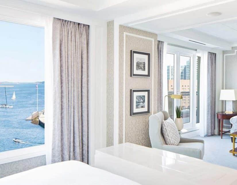 hoteis em boston com vista para o mar