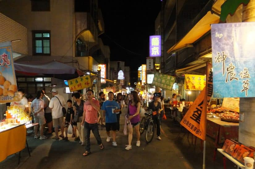 mercado noturno bali