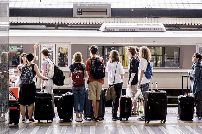 cuidados com bagagem