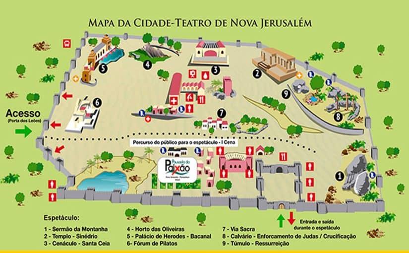mapa nova jerusalem
