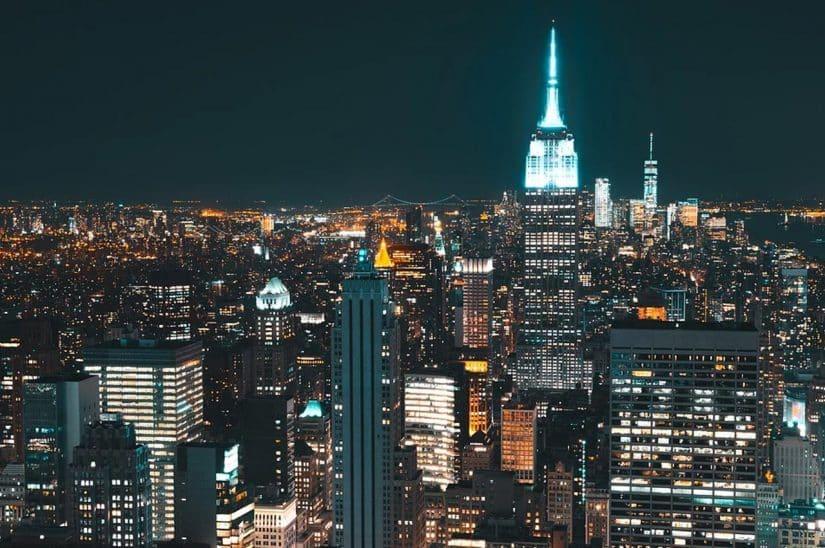 noite em nova york