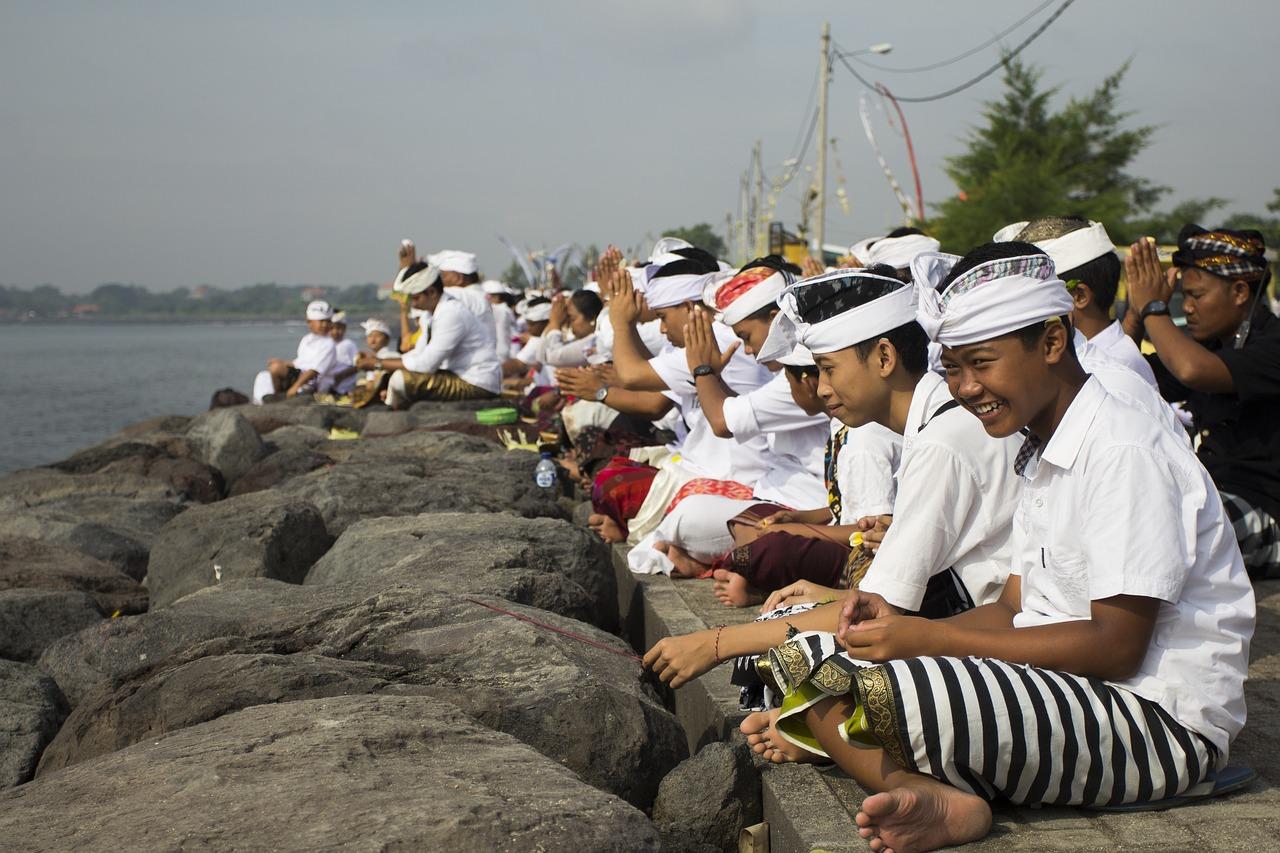 cerimônias religiosas em Bali