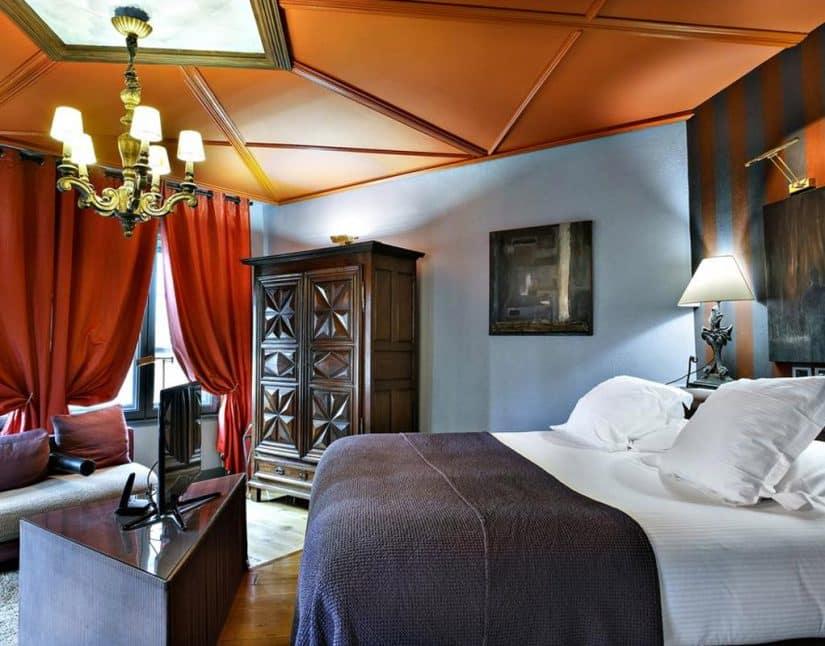 Hotéis antigos na França