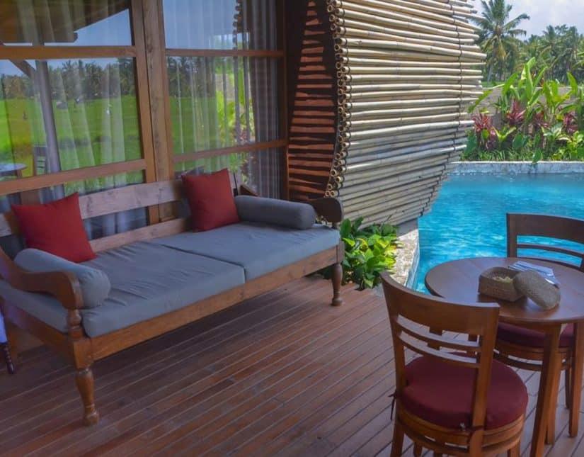 hotel com piscina particular bali