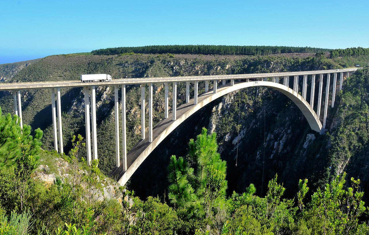 passeios na Africa do sul Bloukrans Bridge