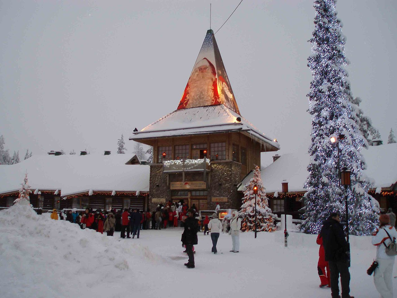 passeios na finlandia santa claus village