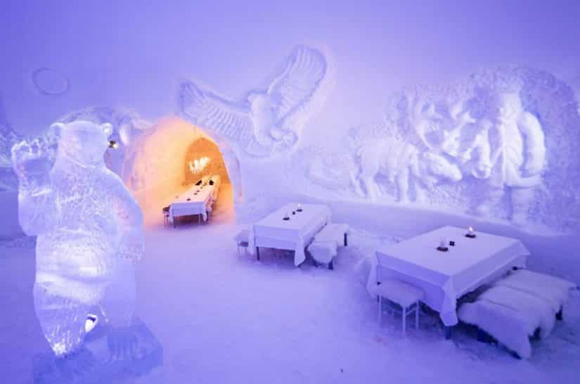 Rovaniemi bar de gelo