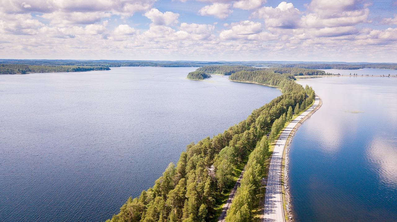passeios na finlandia Lago Saimaa