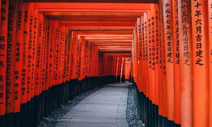 passeios no Japão kyoto