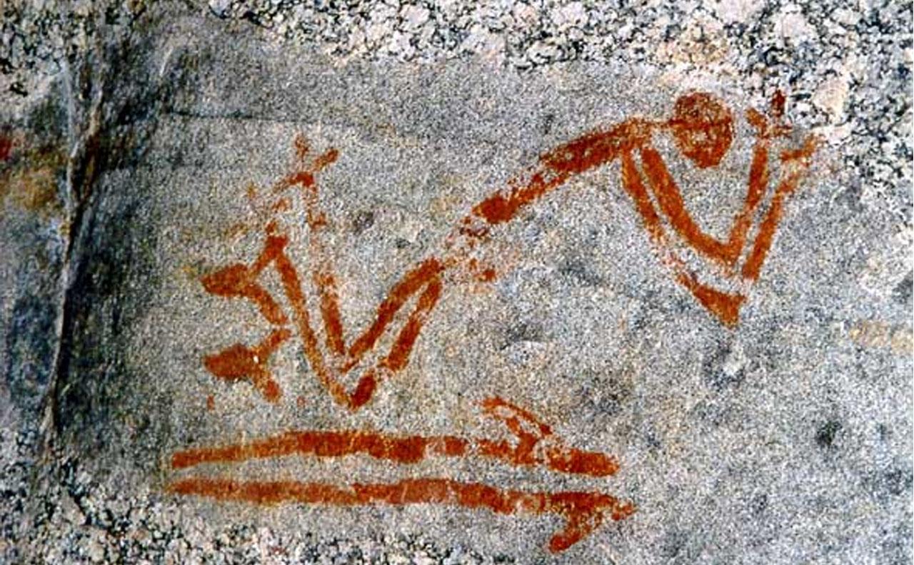 pintura rupestre no brasil