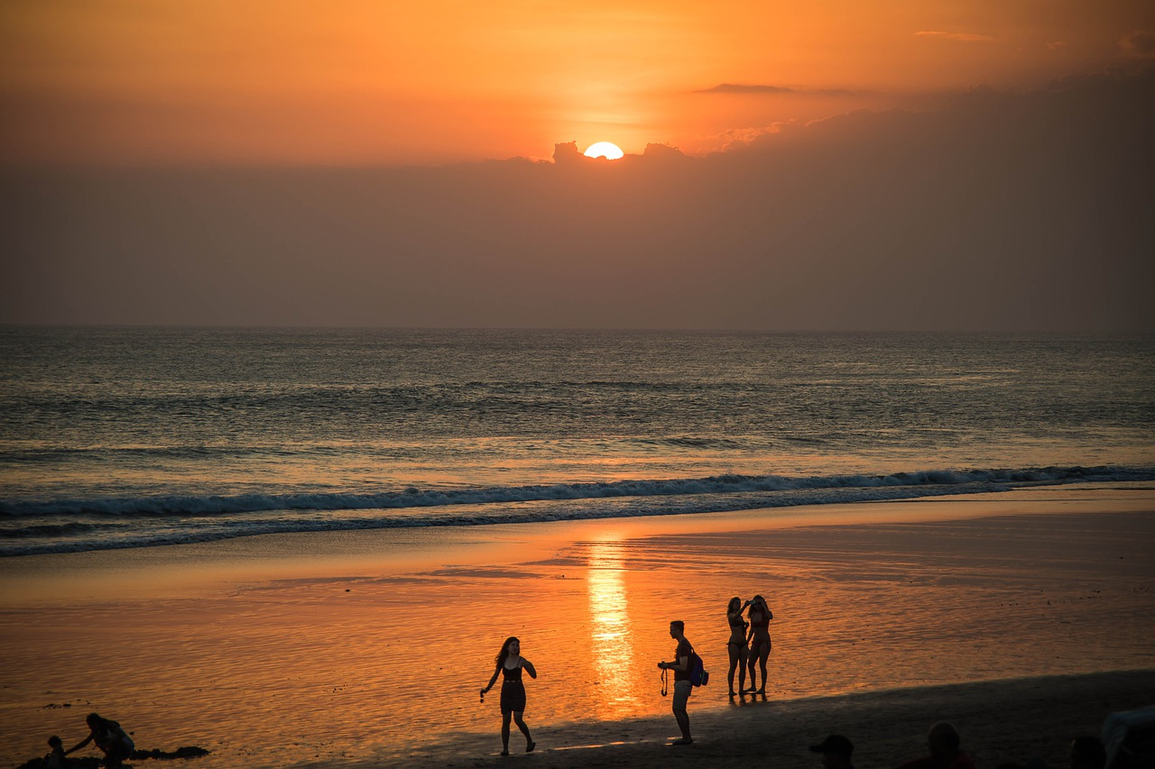 praias das ilhas da Indonésia