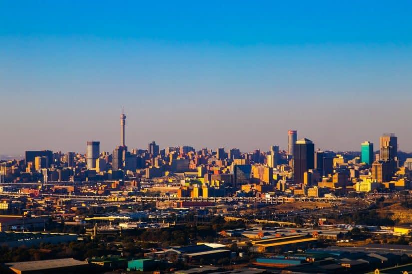 Dinheiro para África do Sul