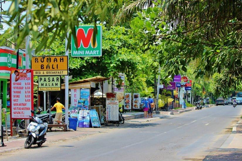 ruas de Bali