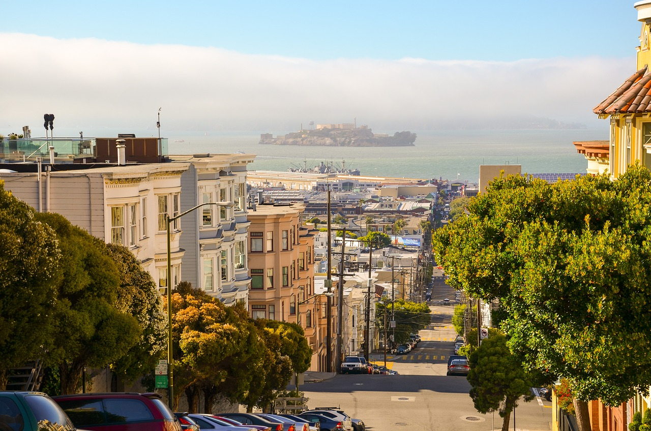 Pontos turísticos de São Francisco