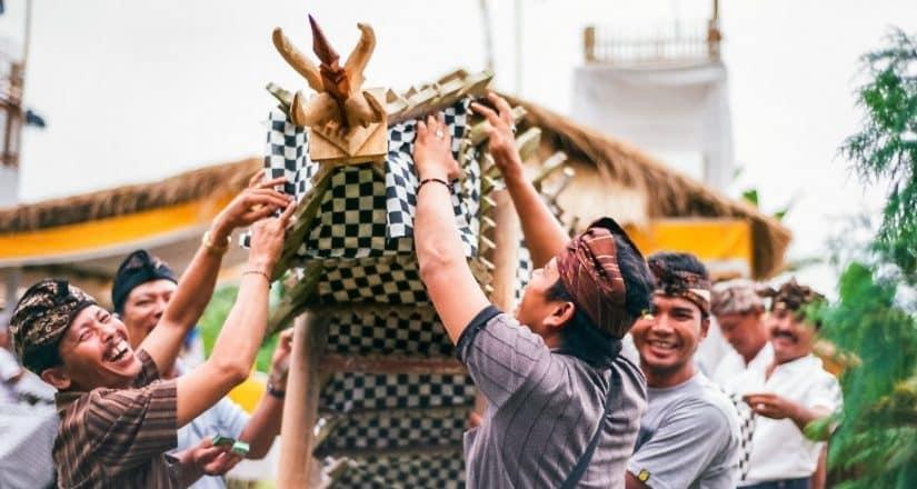 cultura em Bali