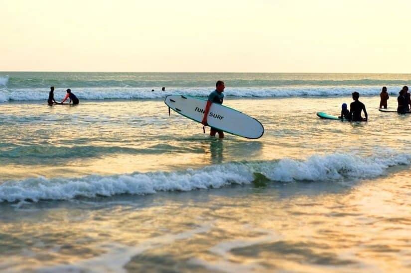 esportes praticados em Bali