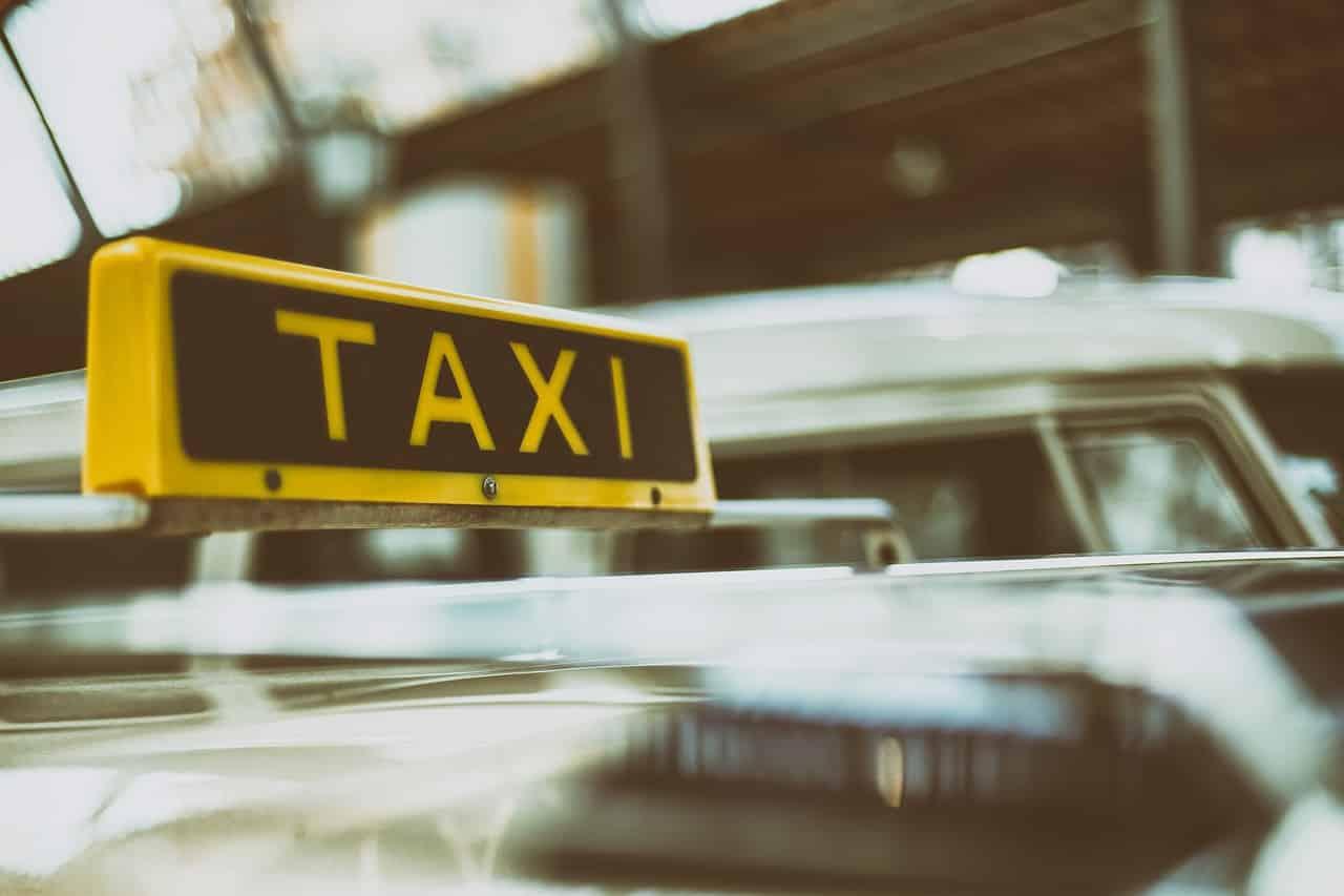 Andar de taxi em Florença
