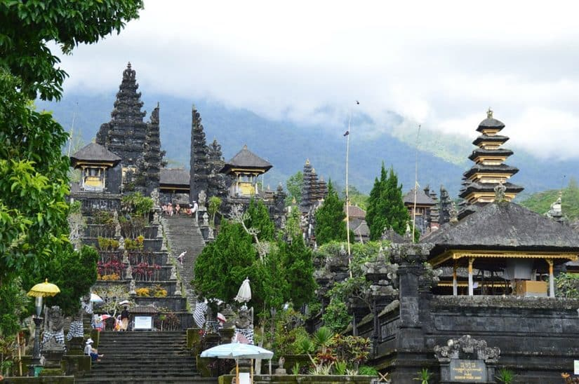 principal templo de bali