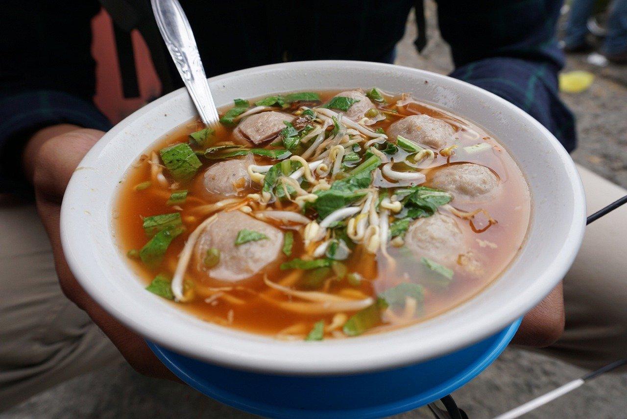 comida de rua da indonesia