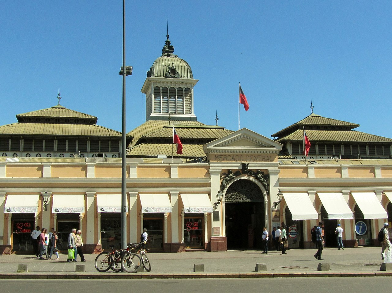 Santiago tem mercado central?