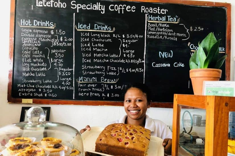 o que comer no timor-leste